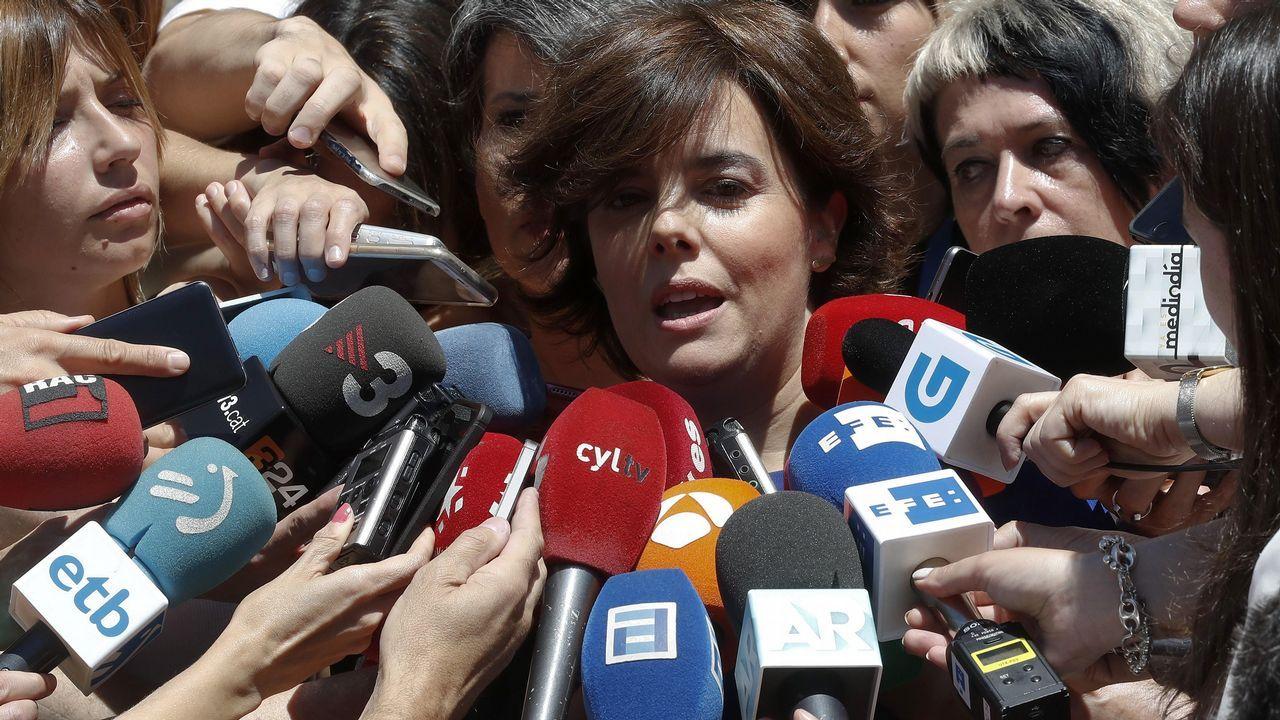 Sáenz de Santamaría: «Sé lo que es estar en el Gobierno y también en la oposición».