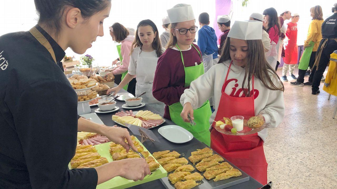 Reciclado en Asturias.Escola Infantil A Caracola, en A Coruña
