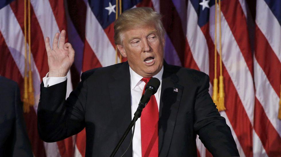 Donald Trump: «Iniciamos la urgente tarea de renovar el sueño americano».Arturo Elías.
