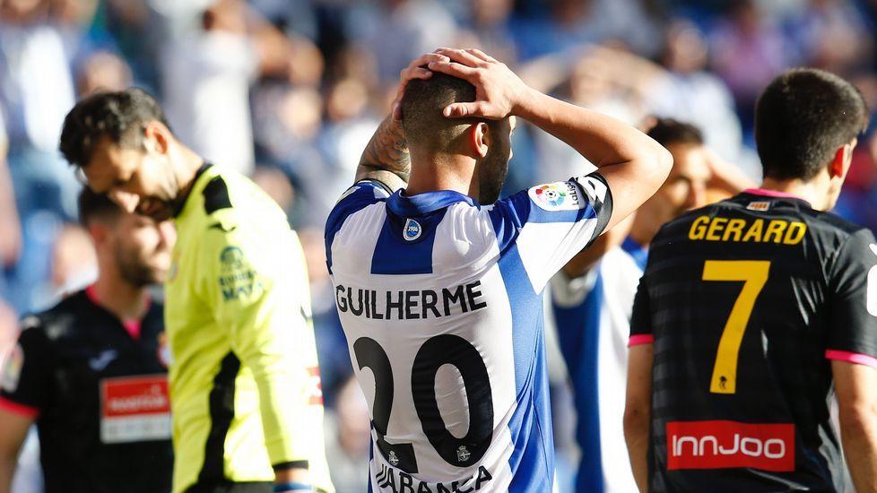 Las mejores fotos del Deportivo-Espanyol.