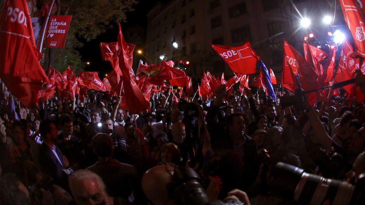 La Asociación de la Prensareivindicasus derechos en Oviedo.Sede de Ferraz, este domingo