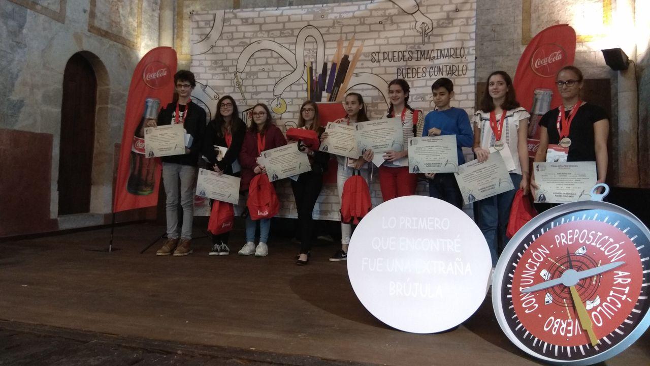 Ganadores asturianos del concurso Jóvenes Talentos del Relato Corto de Coca-Cola