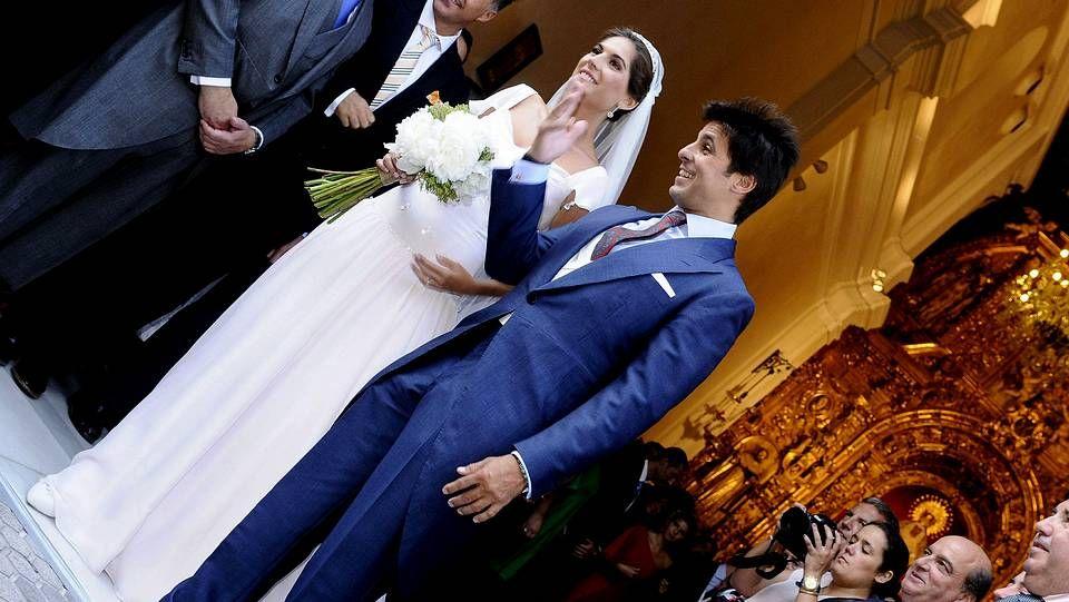 Francisco Rivera se casa con Lourdes Montes