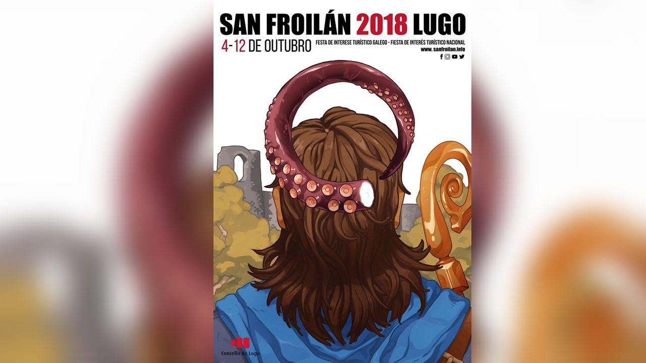 Los carteles a elegir para el San Froilán.