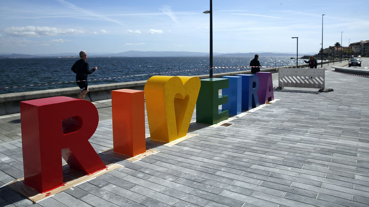 Las nuevas letras de Ribeira ya tienen color
