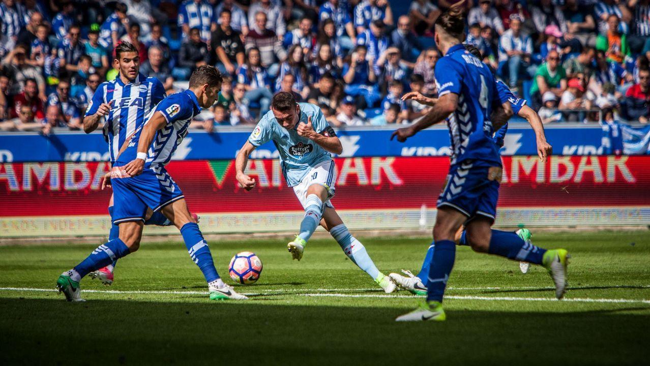240 - Alavés-Celta (3-1) de Liga el 14 de mayo del 2017