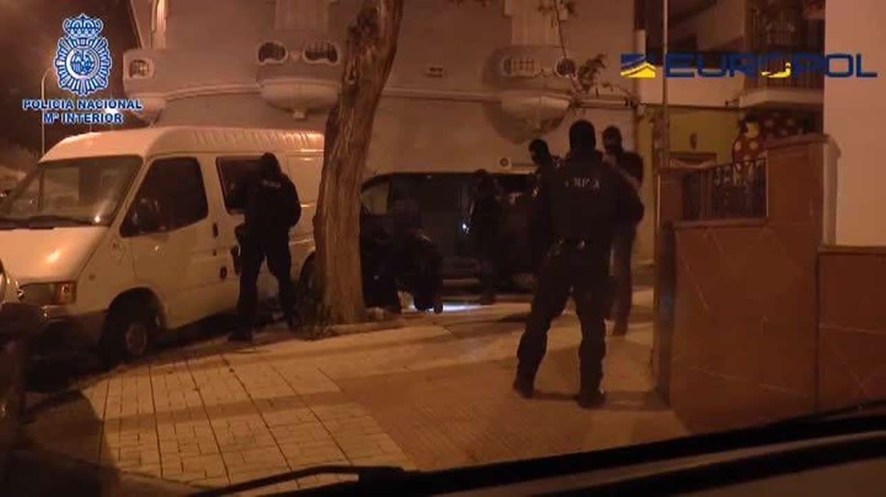 La Policía Nacional detiene en Málaga al marido de una de las terroristas más buscadas de Europa