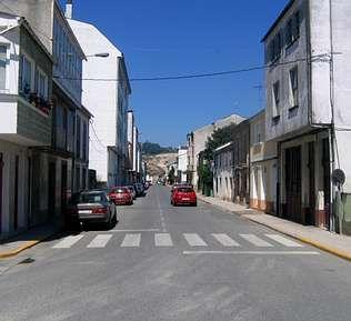 A Rúa do Porvir e tamén coñecida como dos Anticuarios | penoucos