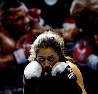 La pugilista viguesa espera que acuda mucha gente a la pelea | Gustavo Rivas