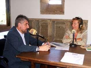 Carlos Fernández habló en Radio Voz de los futuros aparcamientos de Ames