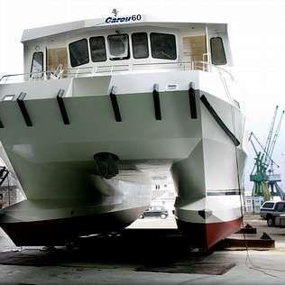 El catamarán tiene capacidad para 150 pasajeros | maRTINA MISER