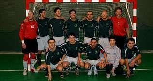 Plantilla de O Loureiro que inició la temporada 2007-2008