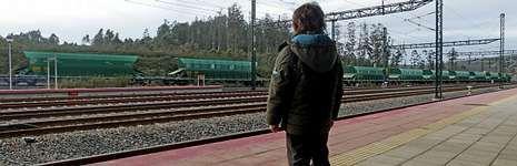 La parada de Cerceda-Meirama, ahora ubicada a varios kilómetros de Cerceda, es una de las que han quedado más a desmano para los habituales del tren.