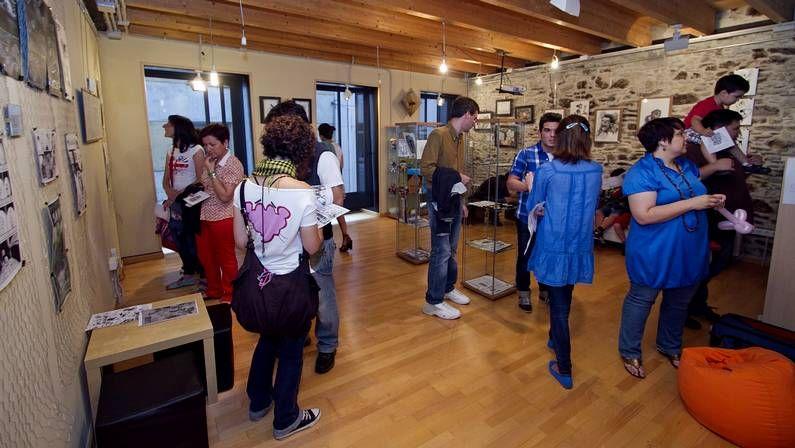 La exposición de Sonda Norte puede verse en la Casa da Xuventude
