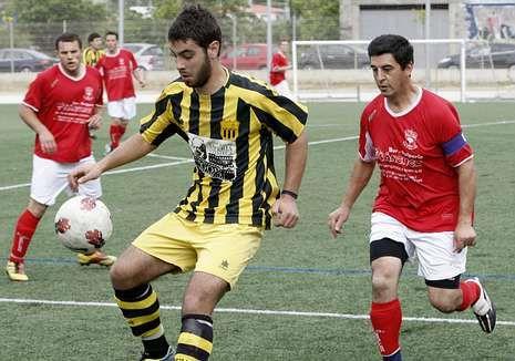 Rafa es uno de los referentes en la delantera del Arenas.