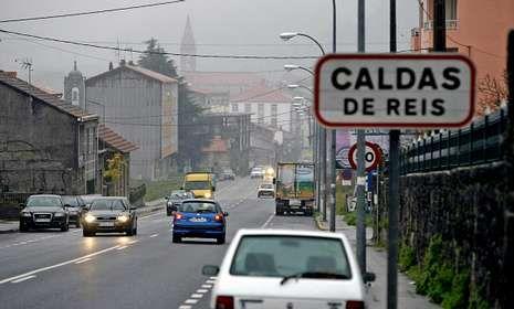 La avenida de Pontevedra es una de las entradas a Caldas donde se podría instalar un radar.