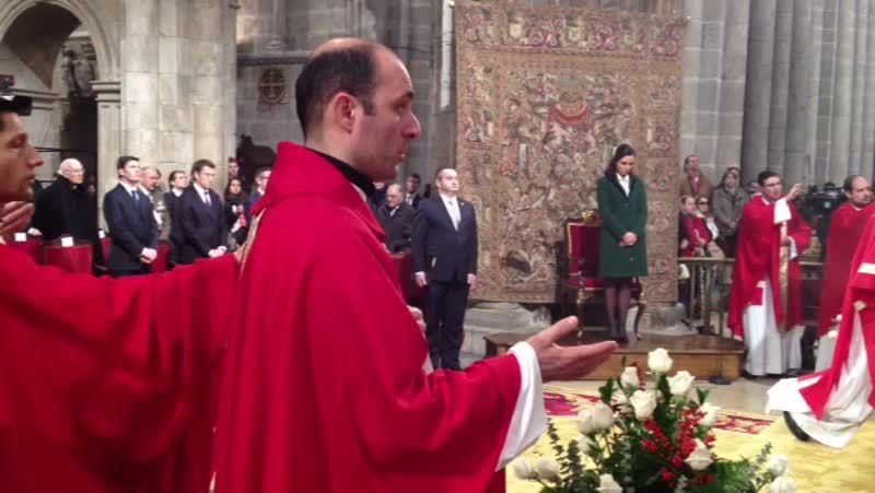 Ceremonia de traslación del Apóstol