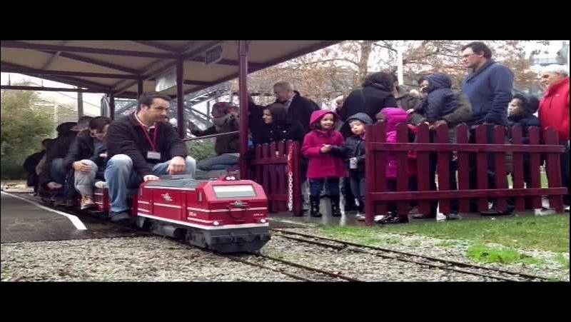 Diversión con trenes en miniatura