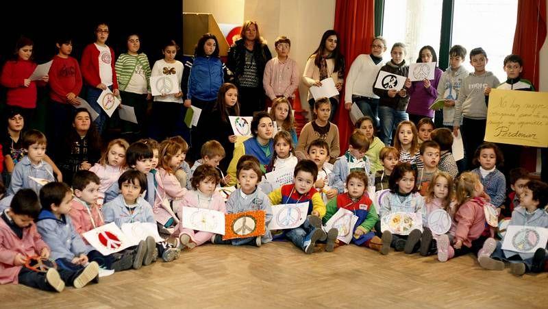 Día de la Paz en el colegio A Escardia