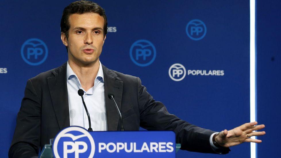 El vicesecretario de Comunicación del PP, Pablo Casado, considera, sin embargo, que el presidente de la Generalitat, Artur Mas, «ha fracasado» porque no tiene mayoría absoluta «ni tampoco ha ganado desde el punto de vista plebiscitario»