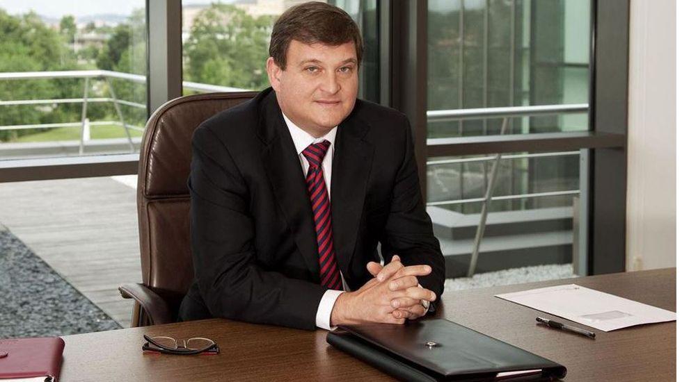 Ángel Antonio del Valle, presidente de Duro Felguera