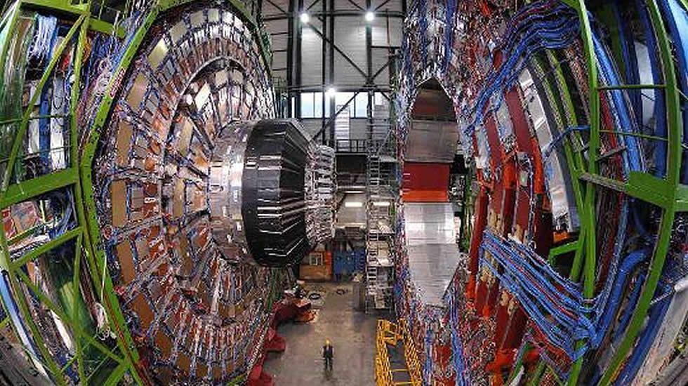 La luna y el CERN