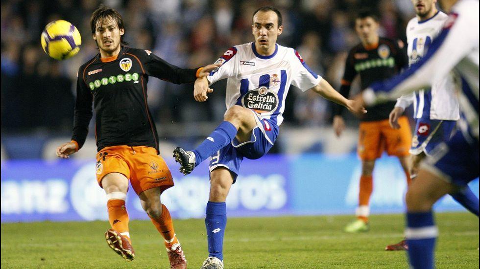Iván Pérez jugó con el Deportivo en Primera