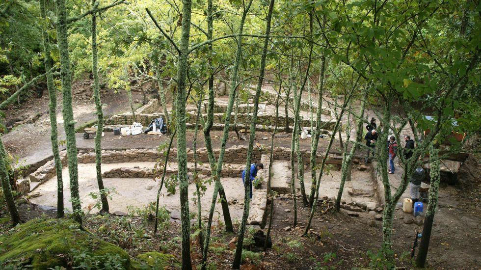 El roteiro arqueológico por Armea es una de las propuestas para hoy