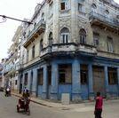 En este edificio de La Habana tenía Colín su sastrería