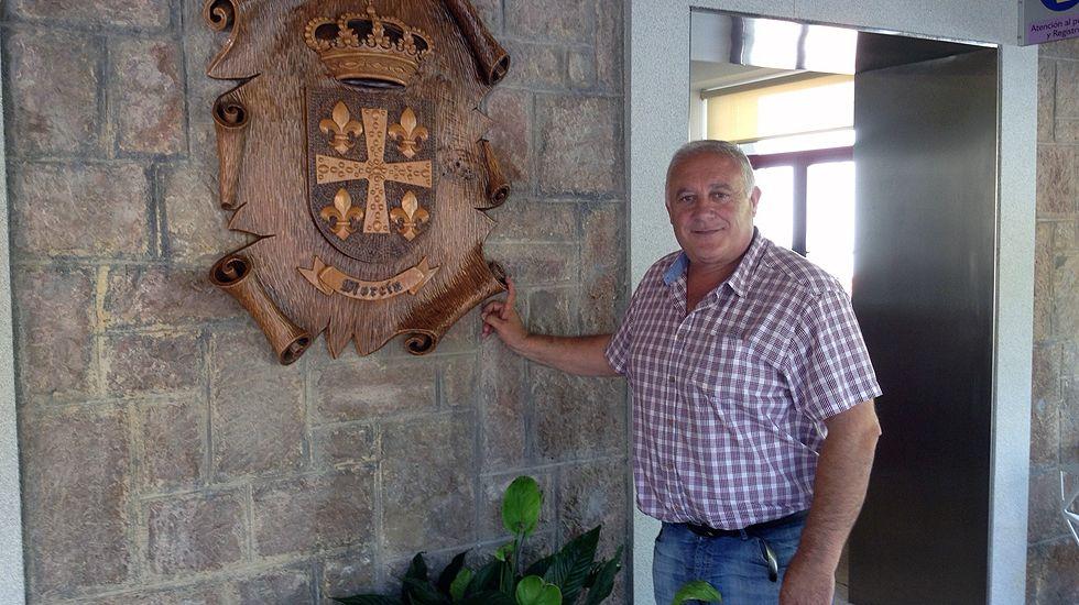 El alcalde de Morcín, Jesús Álvarez Barbao