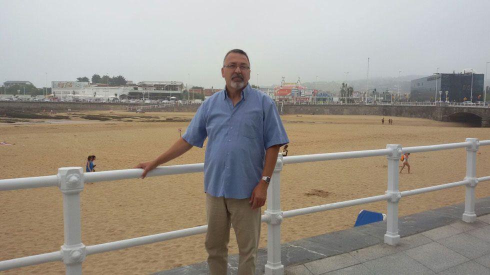 Sergio Primiani, uno de los promotores de la Asociación de Pensionados y Pensionadas de Venezuela residentes en Asturias