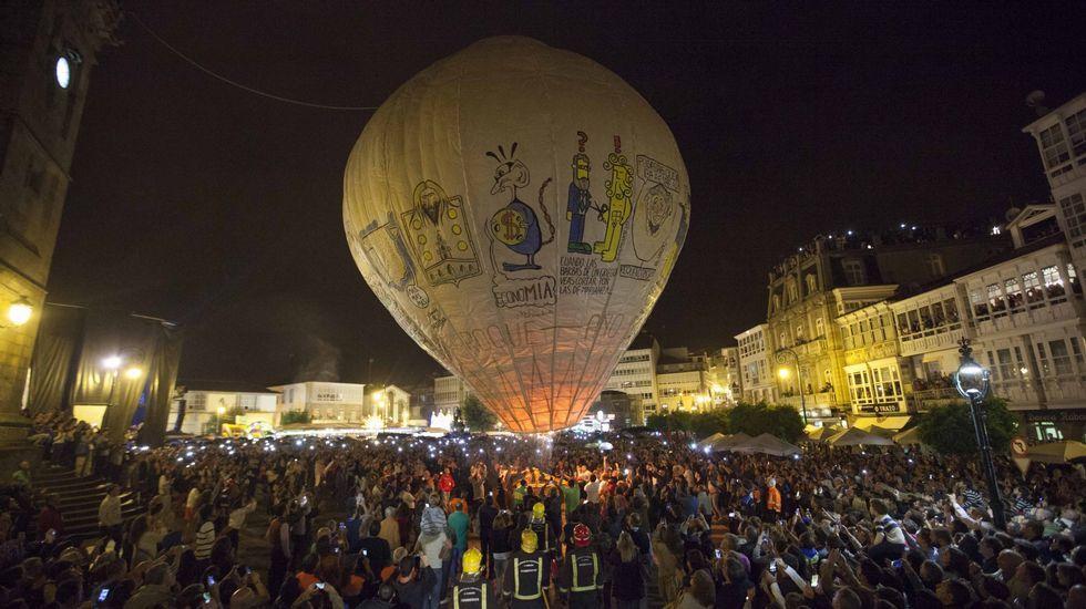 Fiesta del globo de Betanzos