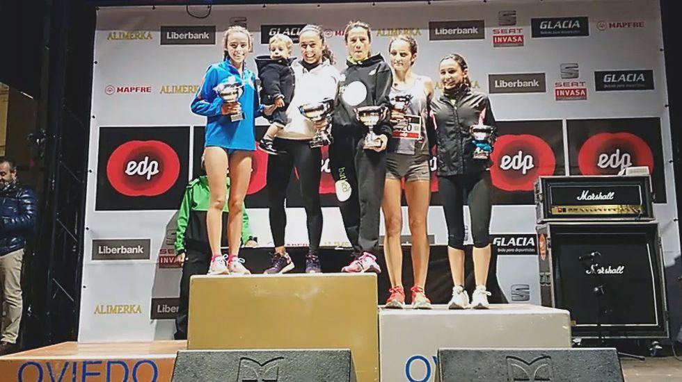 Los ganadores de la San Silvestre de Oviedo