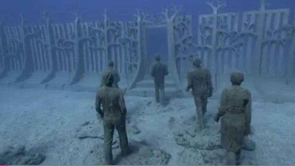 Lanzarote abre su museo submarino