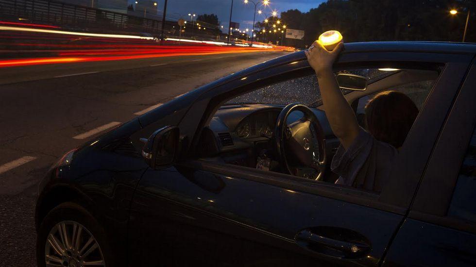 Así es el invento gallego para salvar vidas en carretera