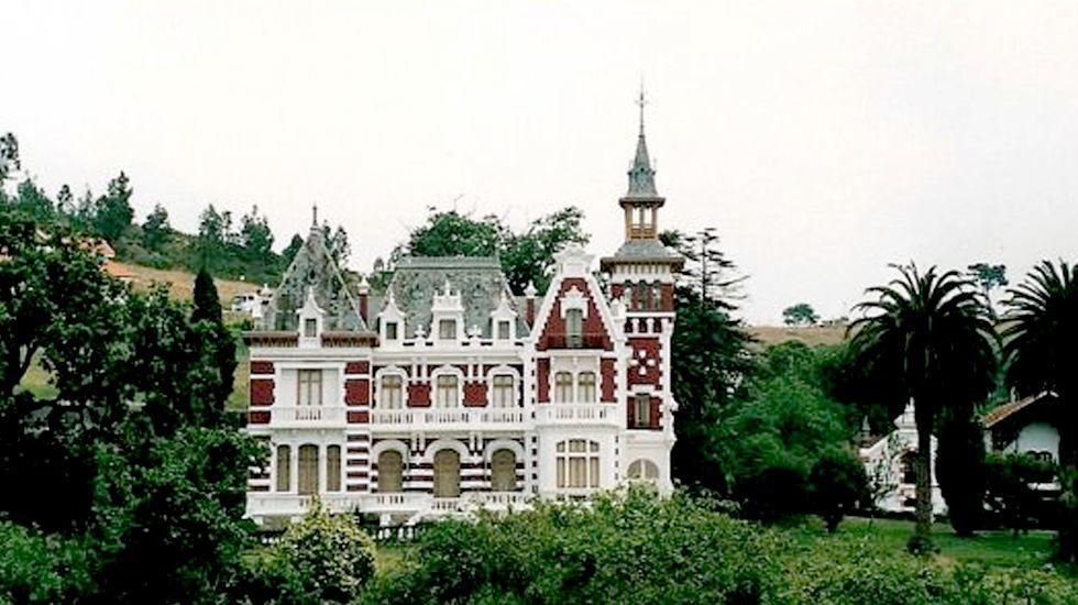 Palacio en la Quinta Bauer de Gijón