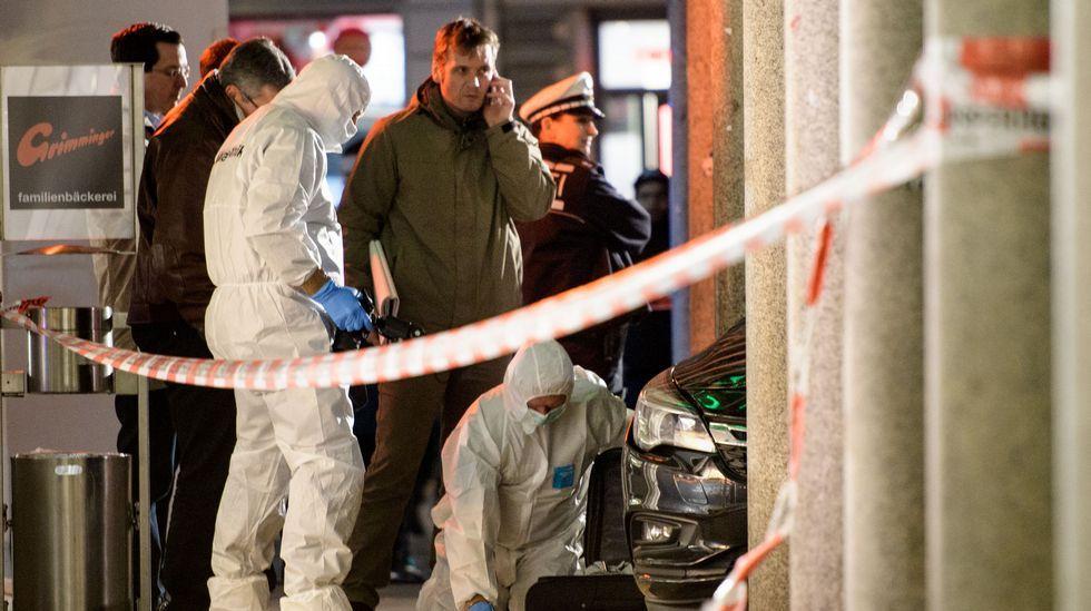 Abatido un conductor en Alemania tras embestir contra un grupo de gente