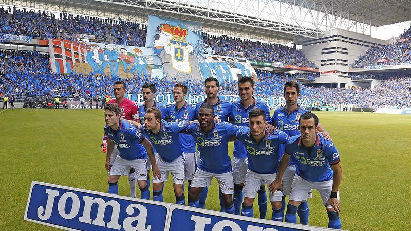 Once inicial del playoff de ascenso a segunda Real Oviedo-Cádiz