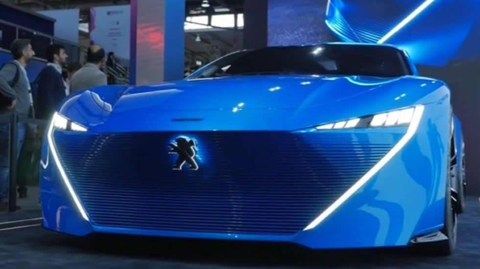 Peugeot Instinct, así será el coche autónomo