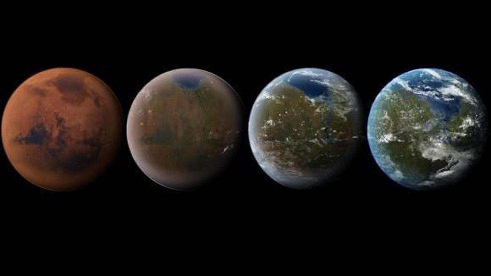 Así se transforma Marte en la Tierra