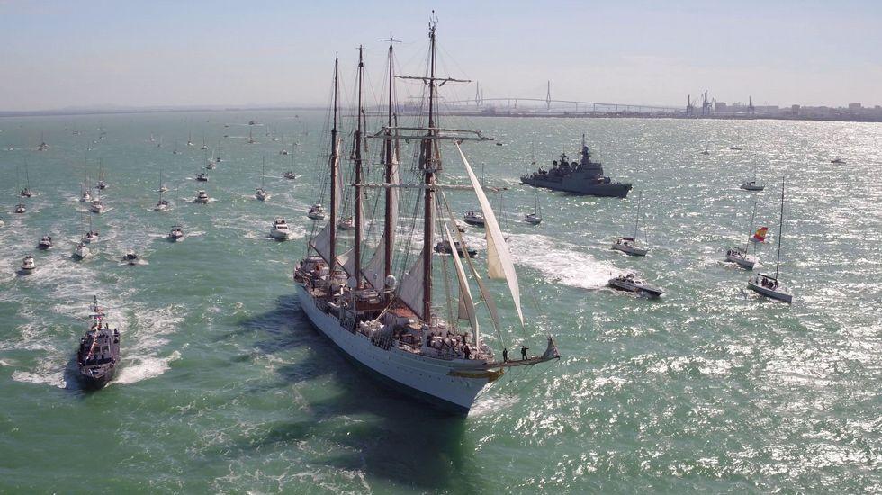 Así navega uno de los buques más veteranos del mundo