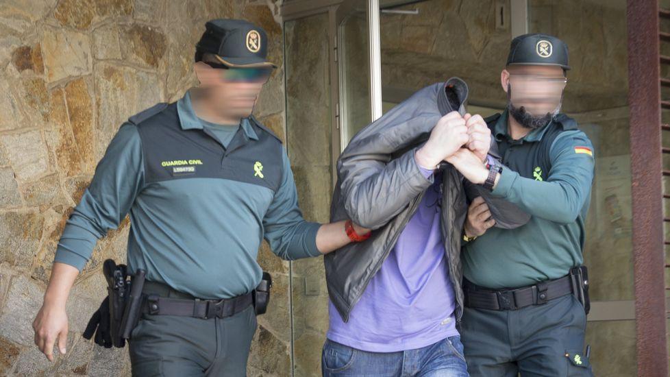 Así fue la detención del presunto asesino del hombre degollado en Fisterra