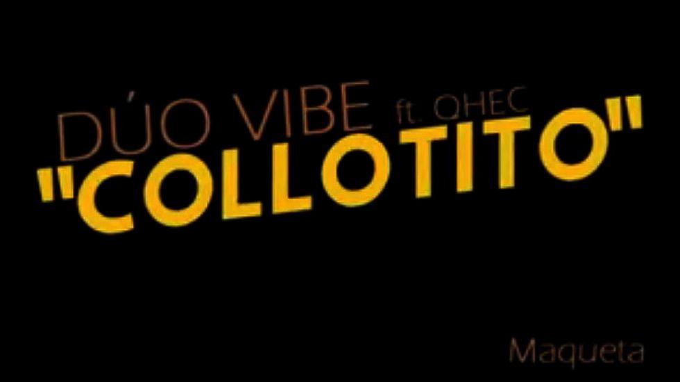 Carátula de la canción «Collotito», compuesta por los vecinos de Colloto, en favor de una convivencia pacífica