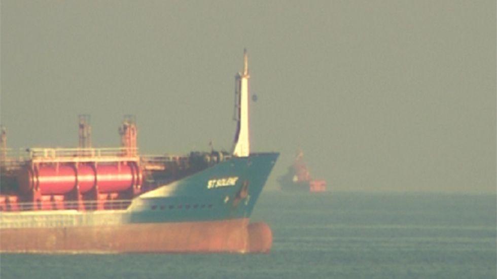 Dos marineros desaparecidos en Barcelona tras chocar su pesquero con un mercante ruso