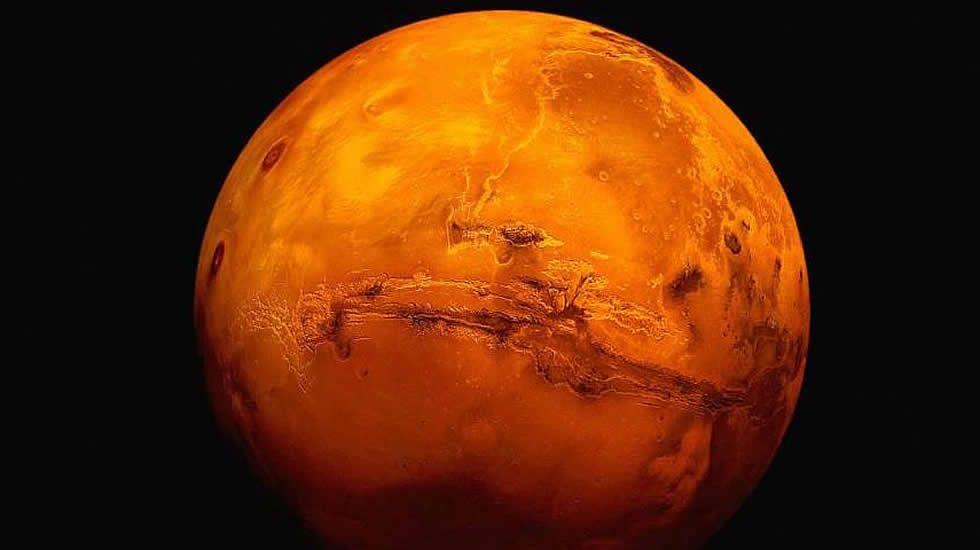 El tiempo que une a Marte con Galicia