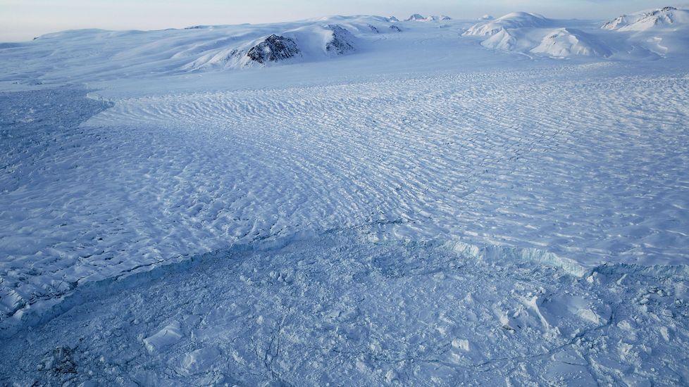 Así vuela la NASA sobre el Ártico