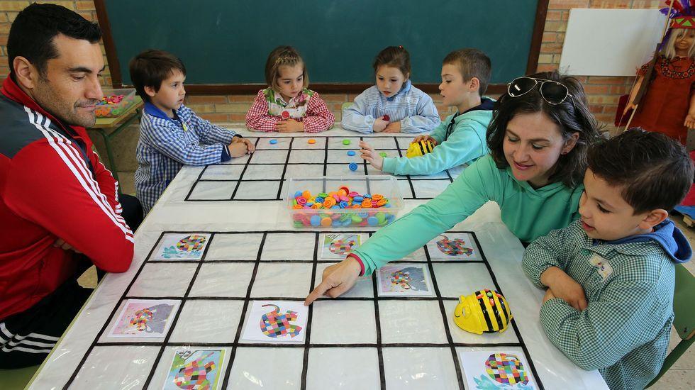 Jornada de puertas abiertas en el colegio de Castrelo