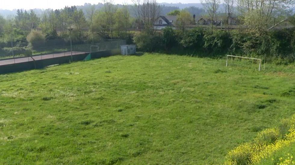 Así es el campo que el concello de Cambre ofreció al Celta