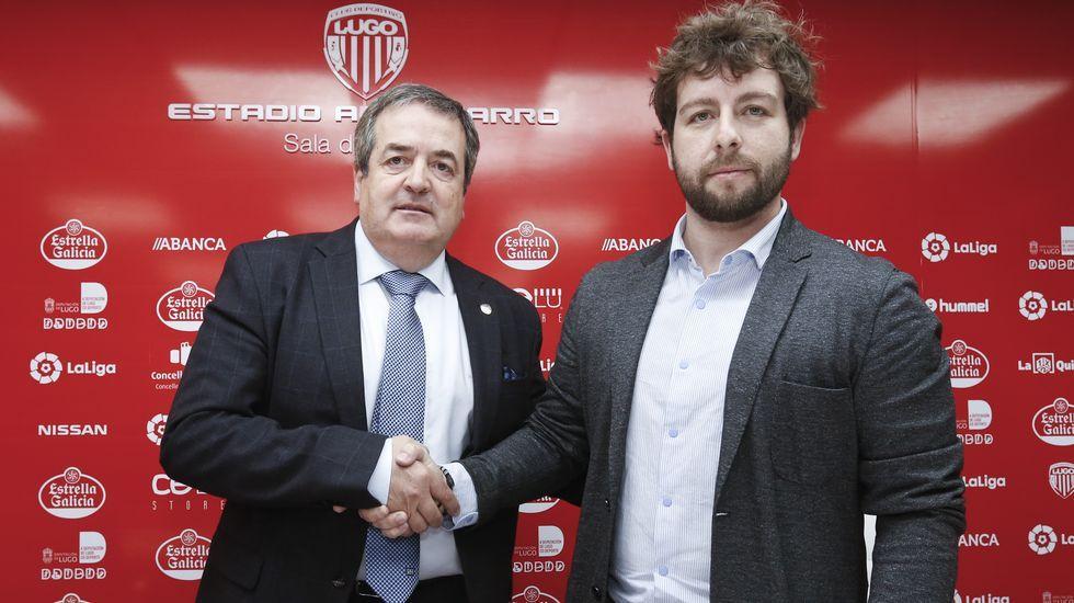 Víctor Moreno llega al Lugo