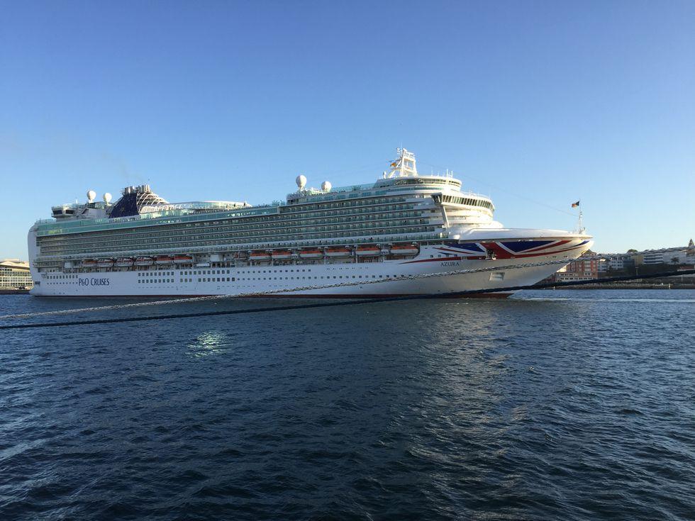 Trasatlánticos en el puerto